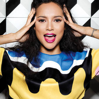 Karrueche Tran for BUST