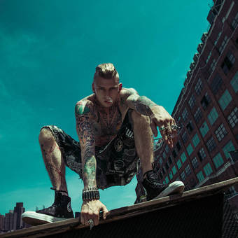 Machine Gun Kelly-Inked Magazine