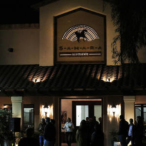 Marquise Horses Entertain the New Year's Eve Crowd at Sahara Scottsdale