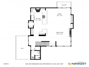 Create Schematic Floor Plans online, right from your Matterport Spaces