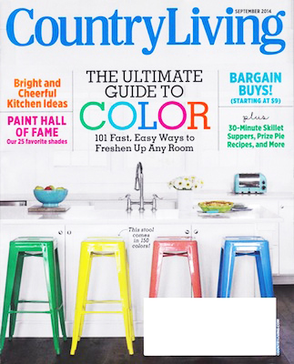 May28th watches - PRESS - COUNTRY LIVING, SEPTEMBER 2014