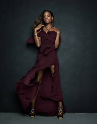 Naomie Harris - Prestige Magazine