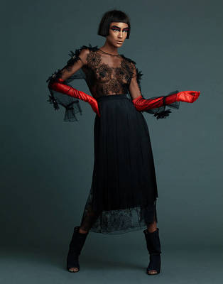 Jourdan Dunn - Prestige Magazine