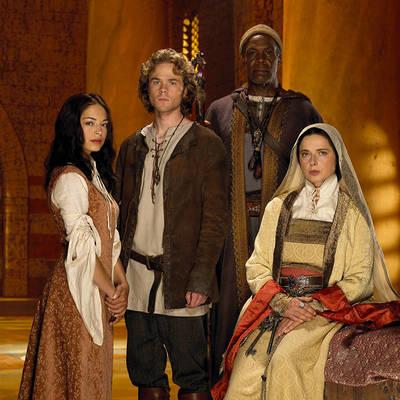 Cast of Earth Sea Kristin Kreuk, Shawn Ashmore, Danny Glover, Isabella Rossellini