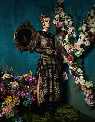 Dark Florals - South China Morning Post