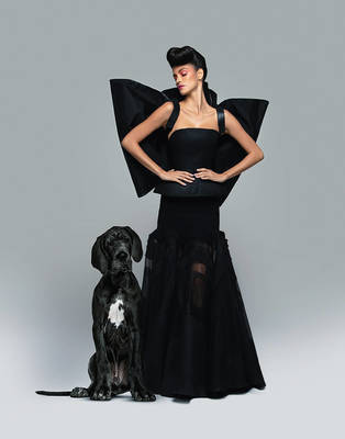 Sofia Resing - Haute Couture for Prestige Hong Kong