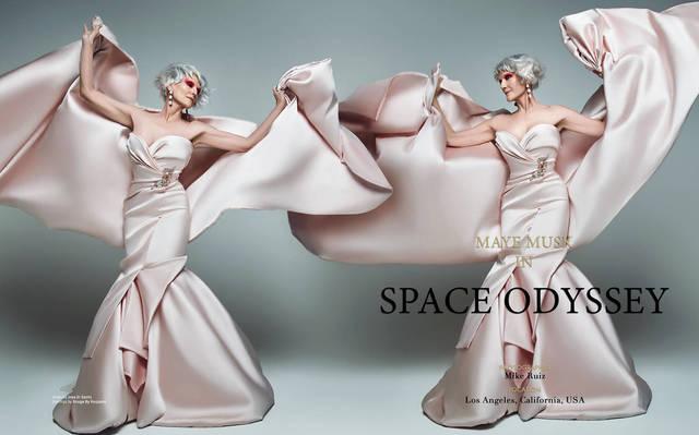 Maye Musk - Space Odyssey L'Officiel Australia