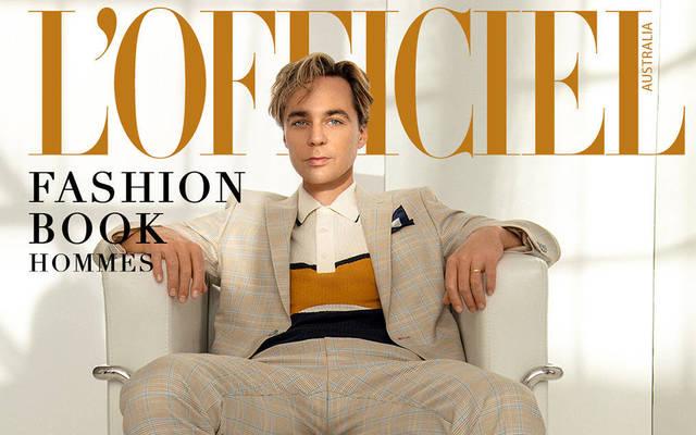 Jim Parsons - L'Officiel Fashion Book Hommes Australia