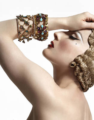 Dita Von Teese - Prestige Magazine