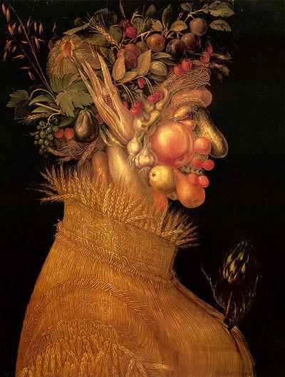 """Summer"" by Giuseppe Arcimboldo (1563)"