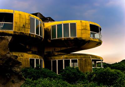 Abandoned Taiwanese UFO Houses