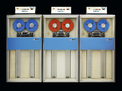 IBM 360 Model 30 Tape Drives 1965