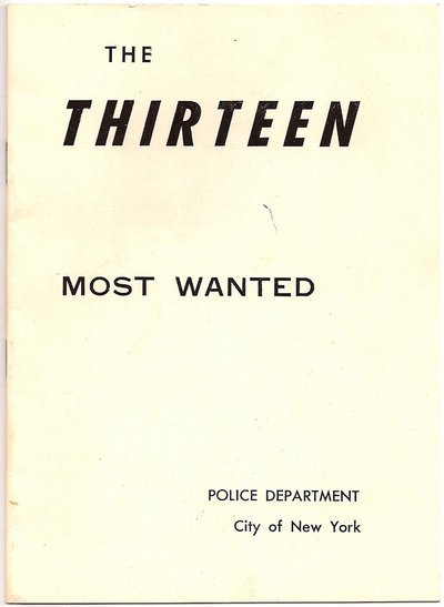 The THIRTEEN Most Wanted