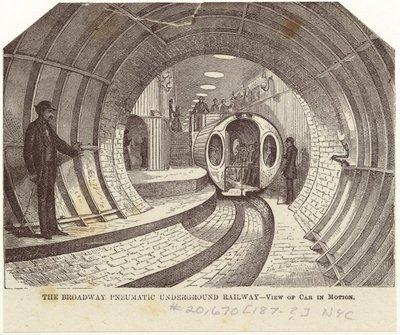 Pneumatic Underground Railway
