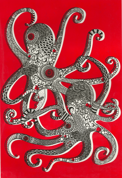 A Tangle of Octopuses