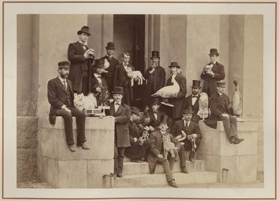 Taxidermy Class, 1875