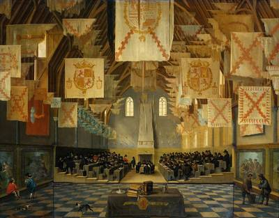 The Great Hall of the Binnenhof, The Hague
