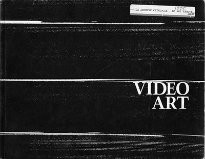 Video Art Catalog