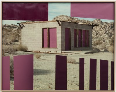 Untitled (House, Fuchsia, Joshua Tree, CA)