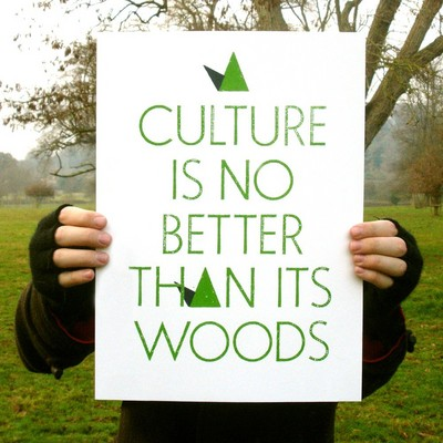 A Culture Is No Better Than Its Woods