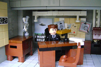 X Files in Legos