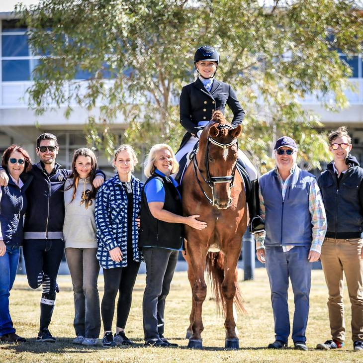 Team Performance at the 2019 NSW Dressage Championships.