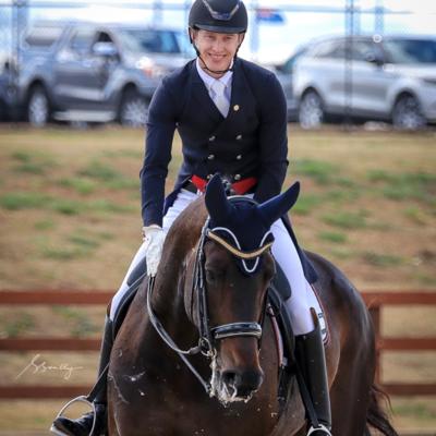 Fürstin Friendship (DE) - with Riley Alexander.   2019 NSW Dressage Championships