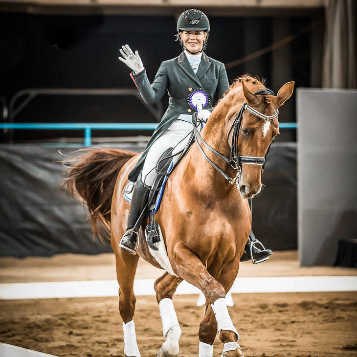 LUXOR 118 & Katharine Farrell | 2019 NSW Dressage Championships  © Stephen Mowbray, 2019