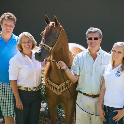 Greg, Julie, GJ & Kate with PARADA