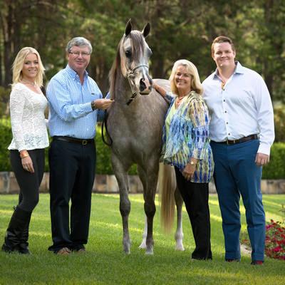 Greg, Julie, GJ & Kate with KLASSICAL PRESENCE MI
