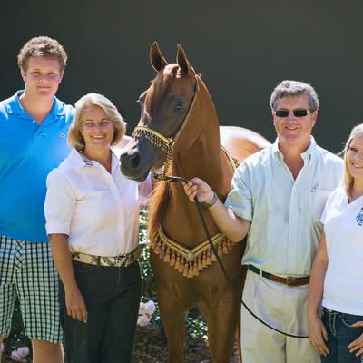 The Farrell Family with PARADA