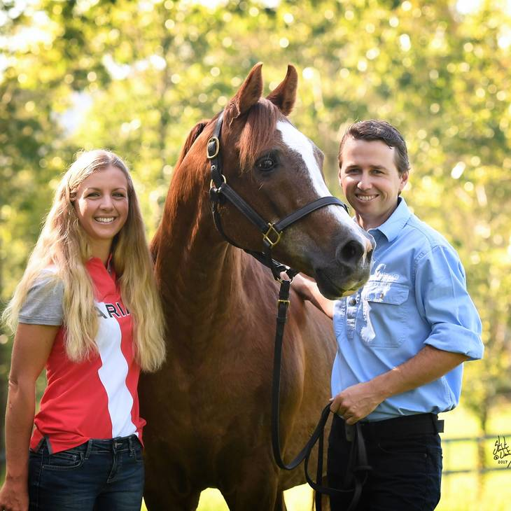 Paul Stockman & Katie Smith with FAME MAKER R