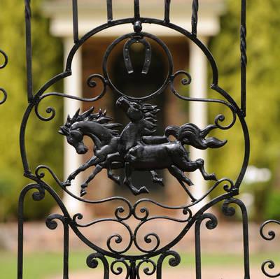 The Homestead Garden Gate