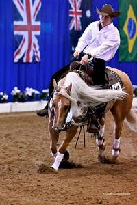 Emilia Reutimann Named to US Junior Team for 2017 SVAG FEI World Reining Championships