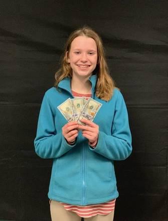 First Timer Wins Her Money Back!