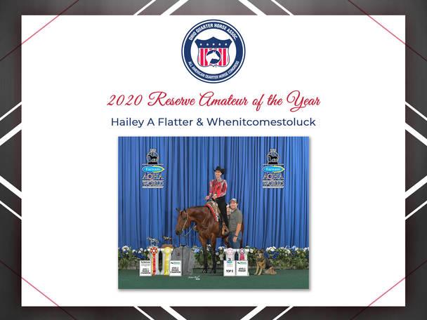 2020 OQHA Award Winners
