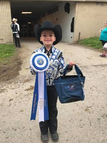 Ohio exhibitors place in All American Youth Horse Show