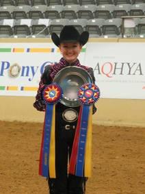 OQHYA's own Ellexxah Maxwell crowned 2016 IEA Champion Western Rider