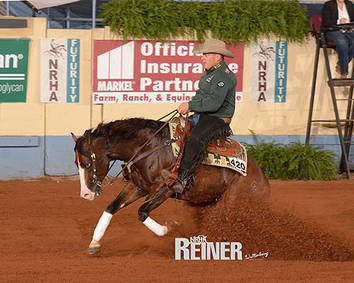 The stage is set for the 2016 NRHA Open Futurity Finalists