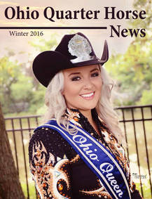 Ohio Quarter Horse News - Winter Issue is Now Available