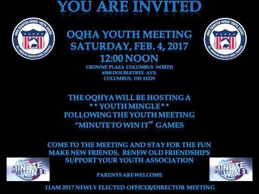 Join OQHYA Saturday, Feb. 4