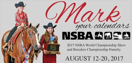 NSBA World Show Schedule Released