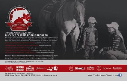 Calling all rookie and first year AQHA exhibitors