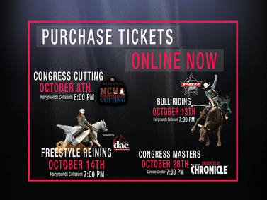 Congress Special Event Tickets On Sale Now