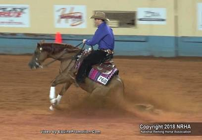 Sam Flarida wins Youth and L1 Non Pro NRHA Futurity