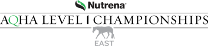 2019 AQHA Nutrena East Level 1 Championships Tentative Schedule