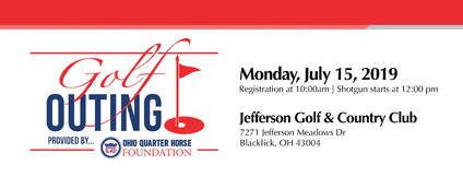 2019 OQHF Golf Outing - July 15th
