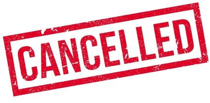 OQHYA August 19th Meeting Cancelled