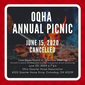 OQHA Picnic - Cancelled