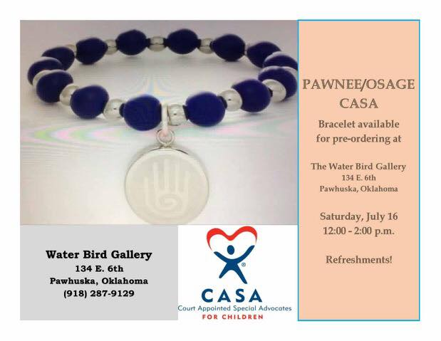 Pawnee/ Osage CASA selling custom-made Rustic Cuff bracelet